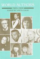 World Authors, 1985-1990