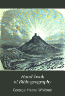 Hand book of Bible Geography