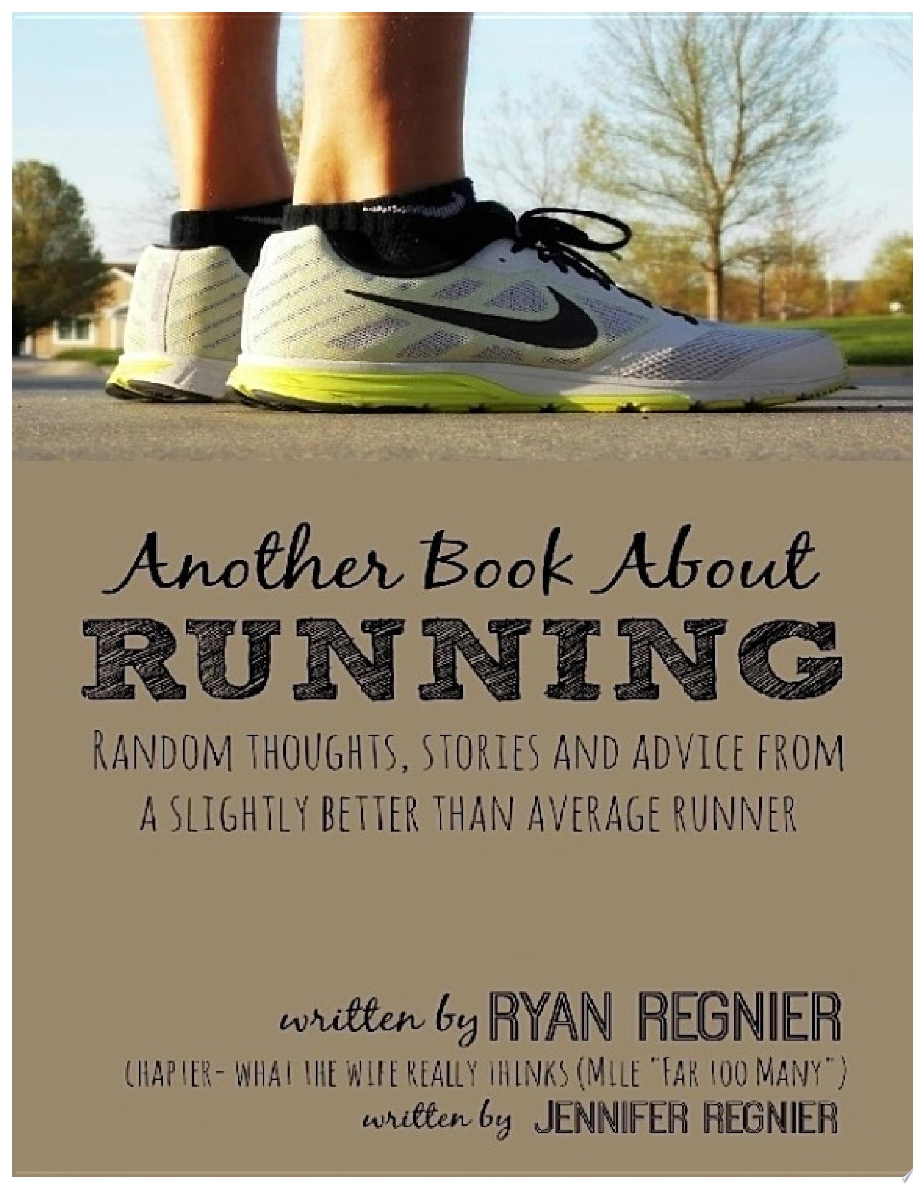 Another Book About Running