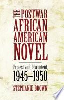 The Postwar African American Novel