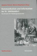 Kommunikation und Information im 18. Jahrhundert