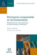Pdf Entreprise responsable et environnement Telecharger