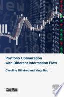 Portfolio Optimization with Different Information Flow Book