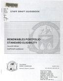 Renewables Portfolio Standard Eligibility