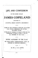 Life and Confession of the Noted Outlaw James Copeland
