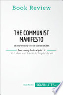 Book Review  The Communist Manifesto by Karl Marx and Friedrich Engels