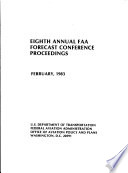 Annual FAA Forecast Conference Proceedings
