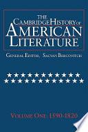 The Cambridge History Of American Literature Book PDF