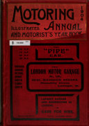 The Motoring Annual and Motorist s Year Book