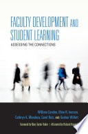 Faculty development and student learning : assessing the connections