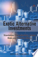 Exotic Alternative Investments Book
