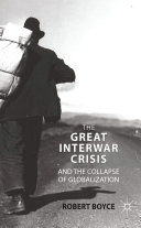 Pdf The Great Interwar Crisis and the Collapse of Globalization Telecharger