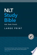 NLT Study Bible Large Print (Red Letter, Hardcover, Indexed)