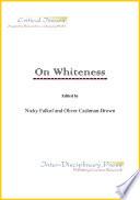 On Whiteness Book PDF