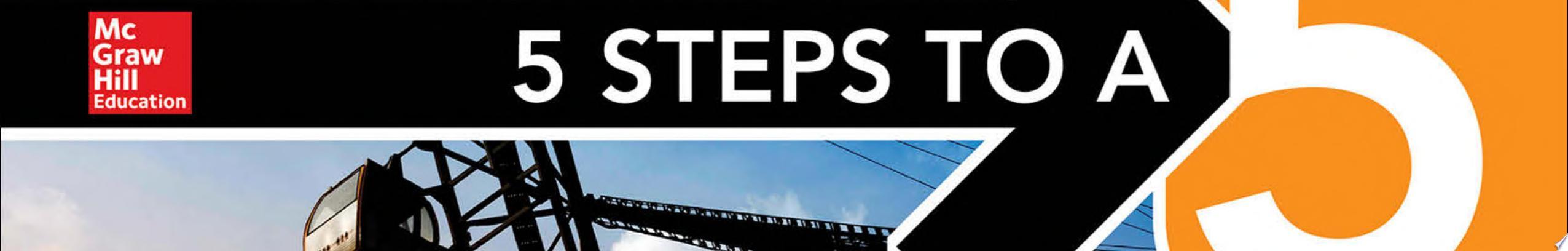 5 Steps to a 5 AP Physics 1  Algebra Based 2018 edition