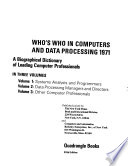 Who's who in Computers and Data Processing
