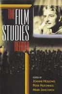 Film Studies: A Reader