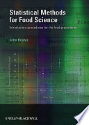Statistical Methods for Food Science Book