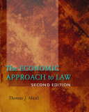 The Economic Approach to Law  Second Edition