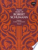 Piano Music Of Robert Schumann Book