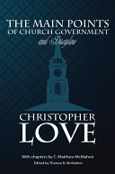 The Main Points of Church Government and Discipline [Pdf/ePub] eBook