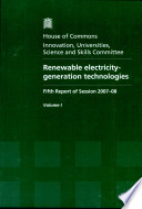 Renewable Electricity - Generation Technologies