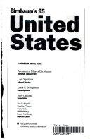 Birnbaum s United States  1995 Book