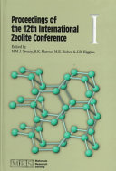 Proceedings of the 12th International Zeolite Conference