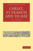 Christ, St Francis and To-day