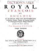 Dictionnaire royal