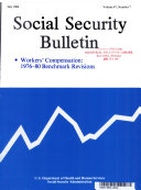 Social Security Buletin