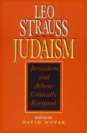 Leo Strauss and Judaism