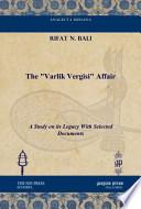 The Varlik Vergisi Affair