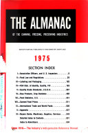 The Almanac of the Canning  Freezing  Preserving Industries Book PDF