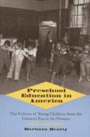 Preschool Education in America
