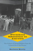 Preschool Education in America