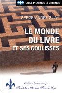 Pdf Québec - Le monde du livre et ses coulisses Telecharger