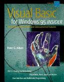 Visual Basic for Windows  95 Insider