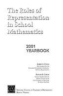 The Roles Of Representation In School Mathematics