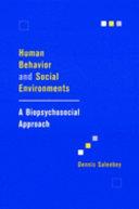 Human Behavior and Social Environments Book PDF