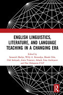 English Linguistics  Literature  and Language Teaching in a Changing Era