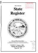 The Minnesota State Register