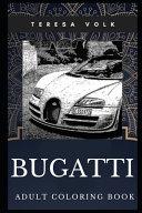 Bugatti Adult Coloring Book