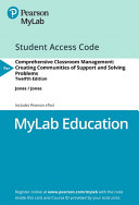 Mylab Education with Pearson Etext    Access Card    For Comprehensive Classroom Management