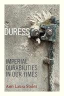 Duress [Pdf/ePub] eBook