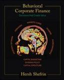 Behavioral Corporate Finance Book