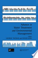 Advances in Water Treatment and Environmental Management Book