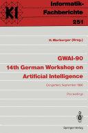 GWAI 90 14th German Workshop on Artificial Intelligence
