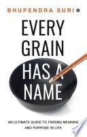 Every Grain has a Name Book PDF