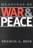 Pdf Meanings of War and Peace